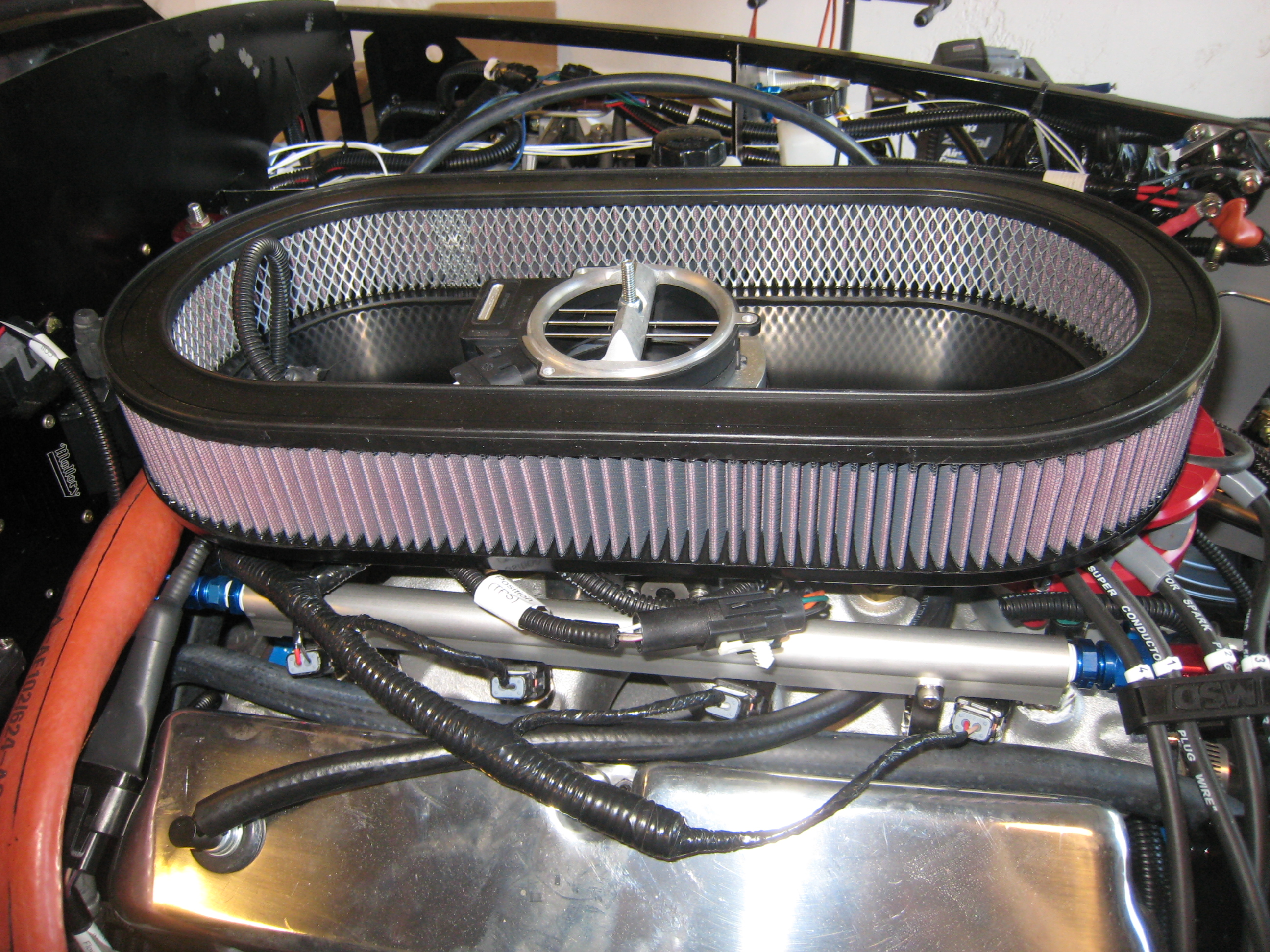 Introduction Jons F5 Roadster Project Page 5 Don39t Forget To Run A Ground Wire From The Radiator Frame Another View